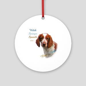 Welsh Springer Best Friend 1 Ornament (Round)
