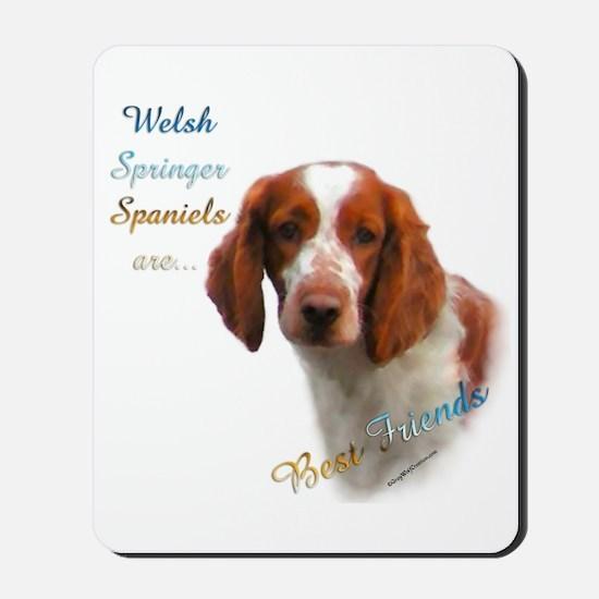 Welsh Springer Best Friend 1 Mousepad