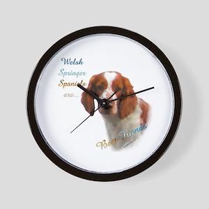 Welsh Springer Best Friend 1 Wall Clock