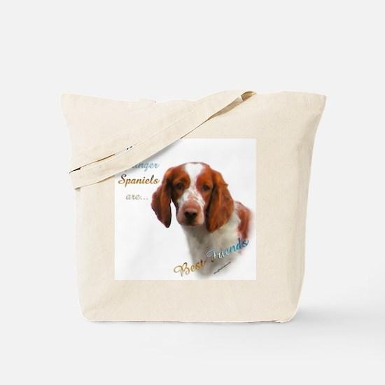 Welsh Springer Best Friend 1 Tote Bag