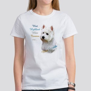Westie Best Friend 1 Women's T-Shirt