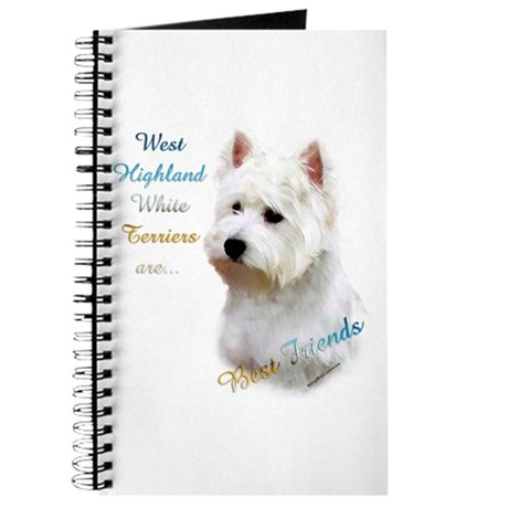 Westie Best Friend 1 Journal