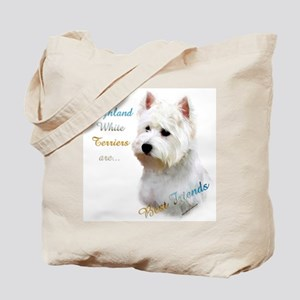 Westie Best Friend 1 Tote Bag