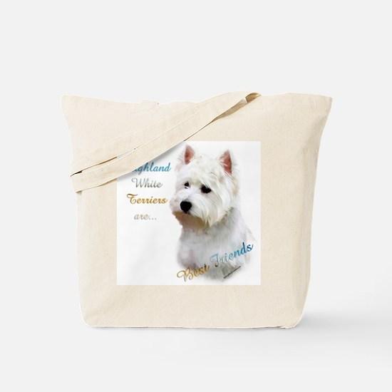 Westie Best Friend 1 Tote Bag