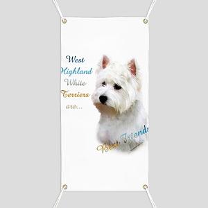 Westie Best Friend 1 Banner
