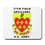 77TH FIELD ARTILLERY Mousepad