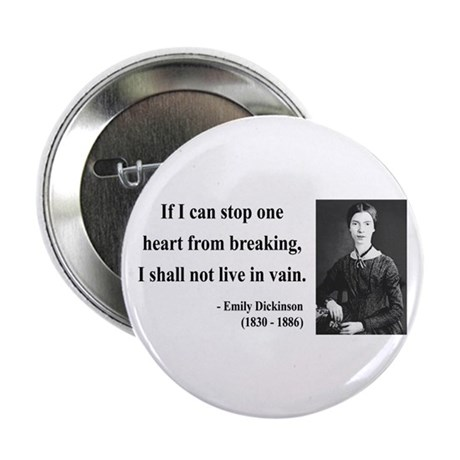 """Emily Dickinson 9 2.25"""" Button (100 pack)"""