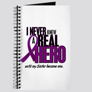 Never Knew A Hero 2 Purple (Sister) Journal