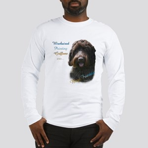 Wirehaired Best Friend 1 Long Sleeve T-Shirt