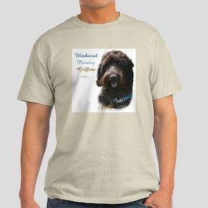 Wirehaired Best Friend 1 Light T-Shirt