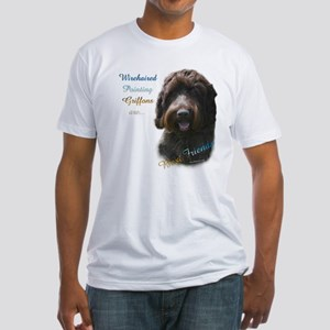 Wirehaired Best Friend 1 Fitted T-Shirt