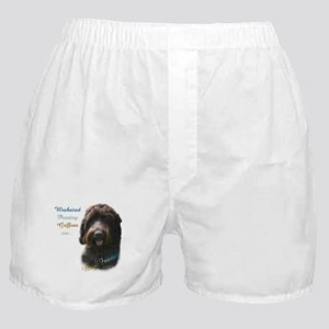 Wirehaired Best Friend 1 Boxer Shorts