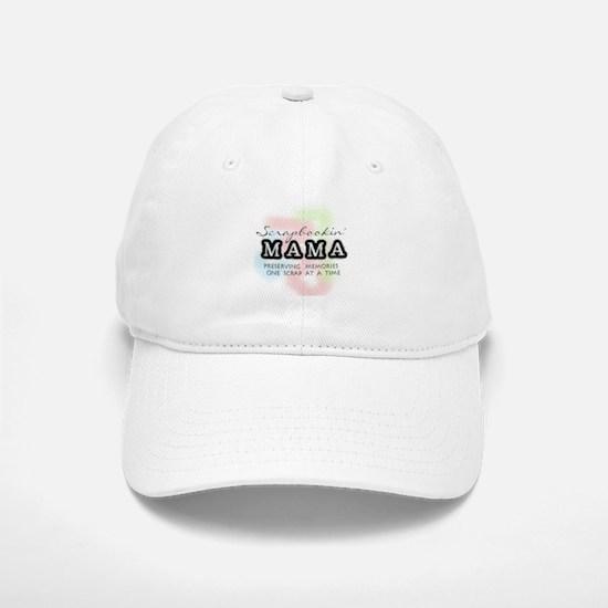 Scrapbookin' Mama Baseball Baseball Cap