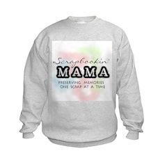 Scrapbookin' Mama Sweatshirt