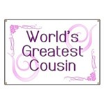 World's Greatest Cousin Banner