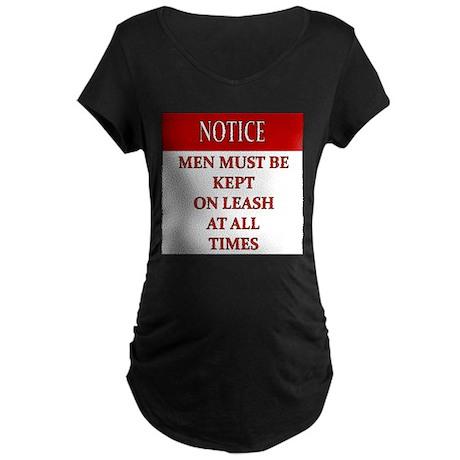 New Section Maternity Dark T-Shirt