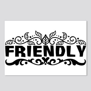 friendly Postcards (Package of 8)