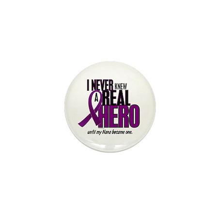 Never Knew A Hero 2 Purple (Nana) Mini Button (100