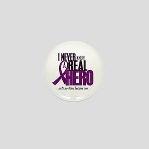 Never Knew A Hero 2 Purple (Nana) Mini Button