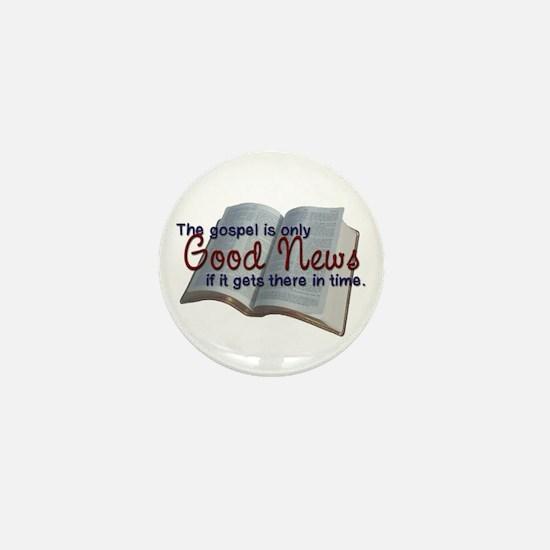 The Gospel Mini Button