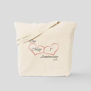 May 1st Anniversary Tote Bag