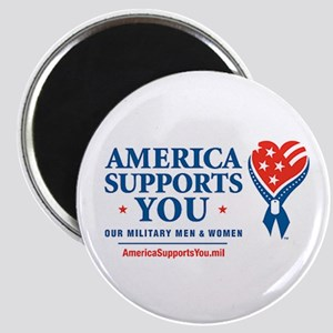 "America Supports You! 2.25"" Magnet (10 pack)"