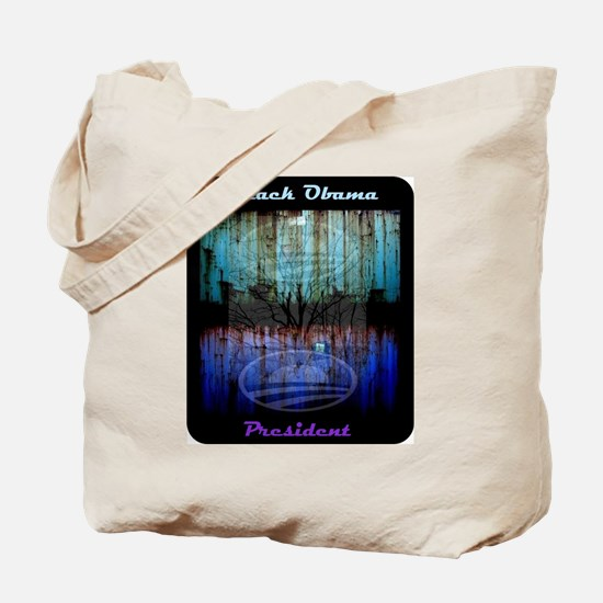 Hope Day and Night - Obama Tote Bag