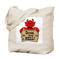 Groom From Hell Tote Bag