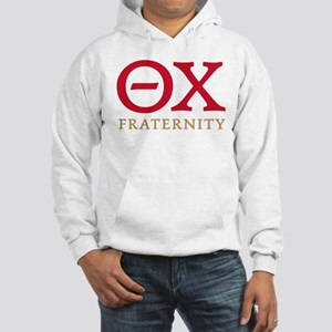 Theta Chi Letters Hooded Sweatshirt