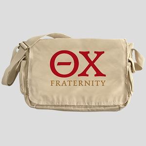 Theta Chi Letters Messenger Bag