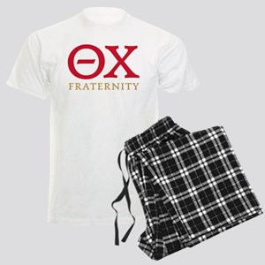 Theta Chi Letters Men's Light Pajamas