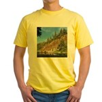 Eel River Cliff Yellow T-Shirt