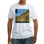 Eel River Cliff Fitted T-Shirt