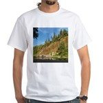 Eel River Cliff White T-Shirt