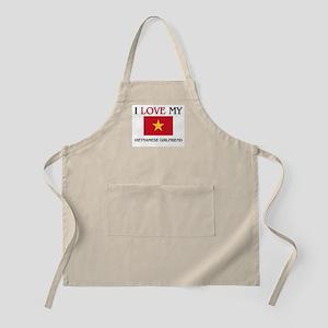 I Love My Vietnamese Girlfriend BBQ Apron