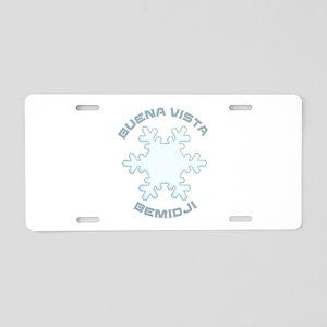 Buena Vista Ski Area - Be Aluminum License Plate
