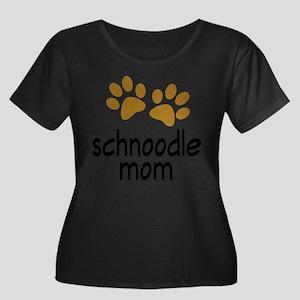 Cute Schnoodle Mom Plus Size T-Shirt