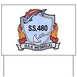USS Medregal Yard Sign
