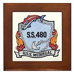 USS Medregal Framed Tile