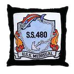 USS Medregal Throw Pillow
