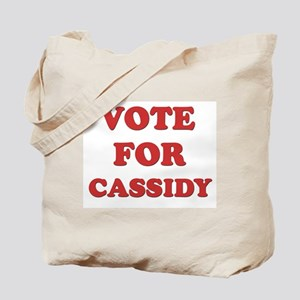 Vote for CASSIDY Tote Bag