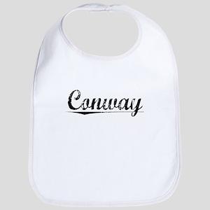 Conway, Vintage Baby Bib