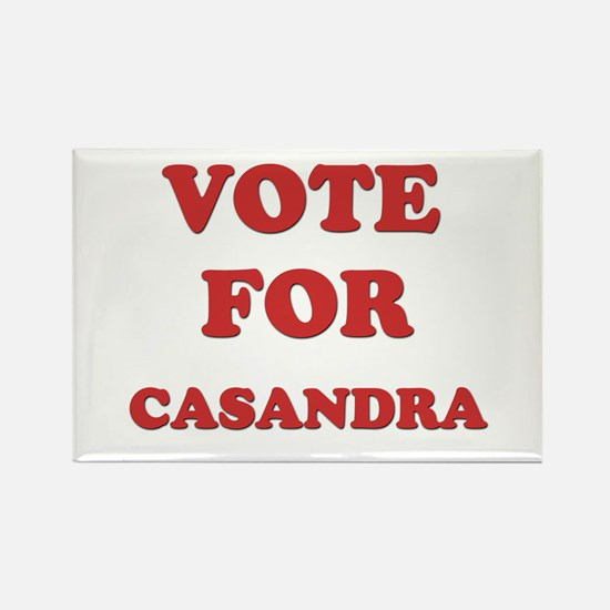 Vote for CASANDRA Rectangle Magnet