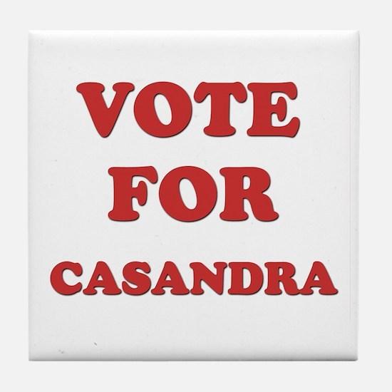 Vote for CASANDRA Tile Coaster