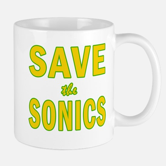 Save the Sonics in Seattle Mug