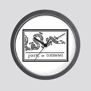 Join or Dhimmi Wall Clock