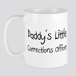 Daddy's Little Corrections Officer Mug