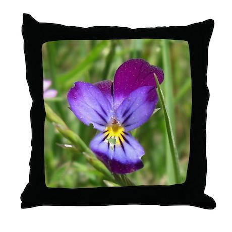 Field Flower Throw Pillow
