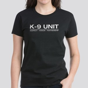 Respect Honor Partnership Women's Dark T-Shirt
