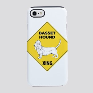 Basset Hound Sign iPhone 8/7 Tough Case